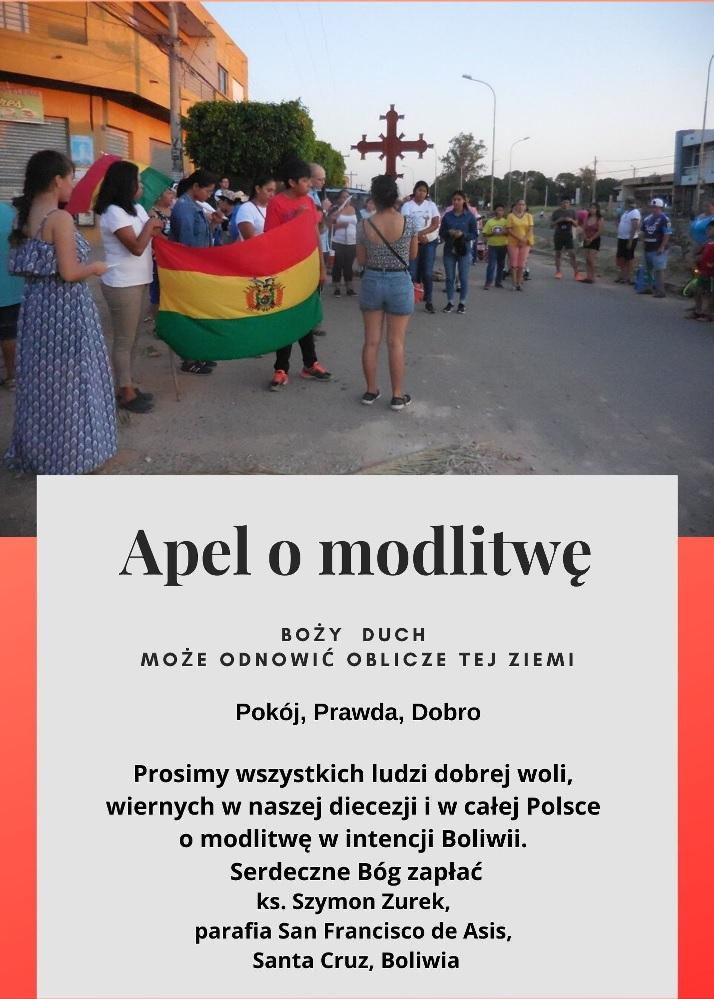 Boliwia - plakat